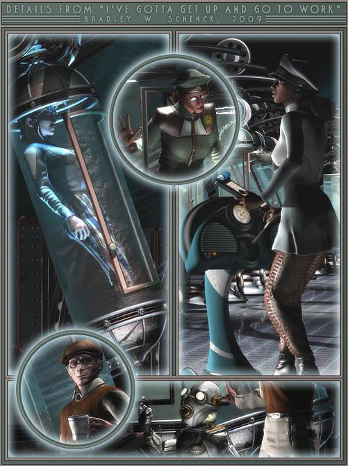 Retro-Futuristic Posters & Prints