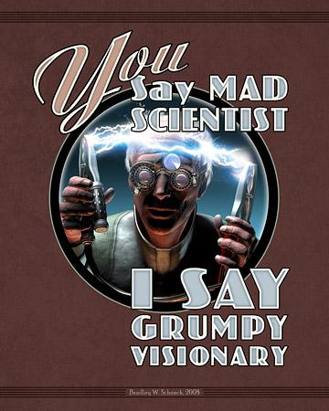 Mad Science Art