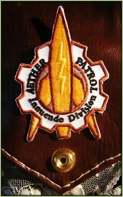Aether Patrol Steampunk Patch
