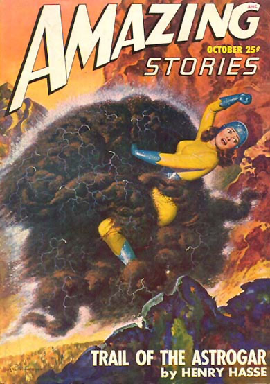 Amazing Stories Pulp magazine cover