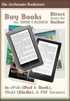 Matthew Hughes' Archonate Bookstore