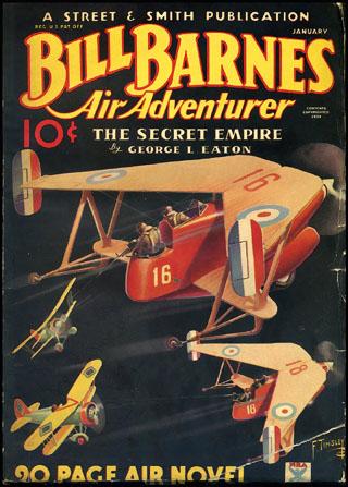 Bill Barnes, Air Adventurer
