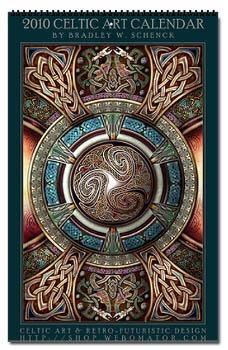 Celtic Design Wall Calendar