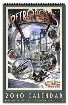 Retropolis Retro Future Calendar