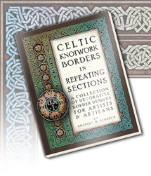 Celtic Knotwork Borders Book