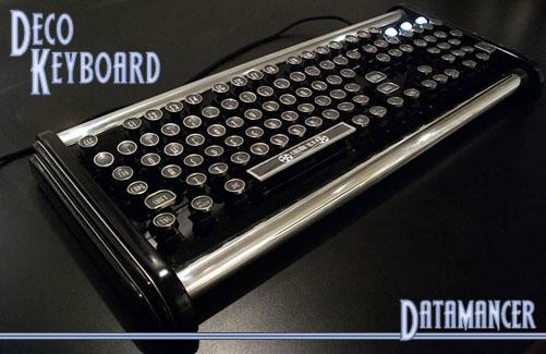 Datamancer's Art Deco Keyboard