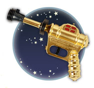 Replica Buck Rogers ray gun
