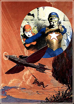 retro sci fi comics & art