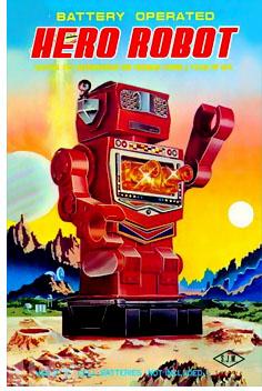 Hero Robot Toy Box Art