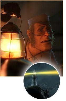 """""""Lighthouse"""" CG animation"""
