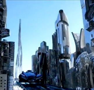 Neo City Futuristic Animation