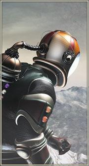 Retro Space Man