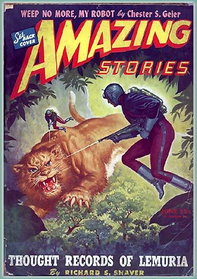 Big Cats & Rayguns, Oh My!