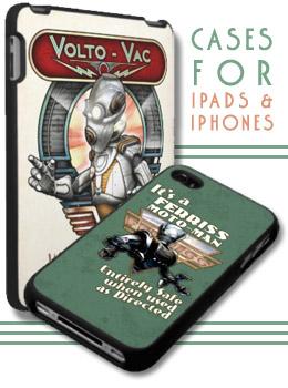 Retropolis ipad cases and iphone cases