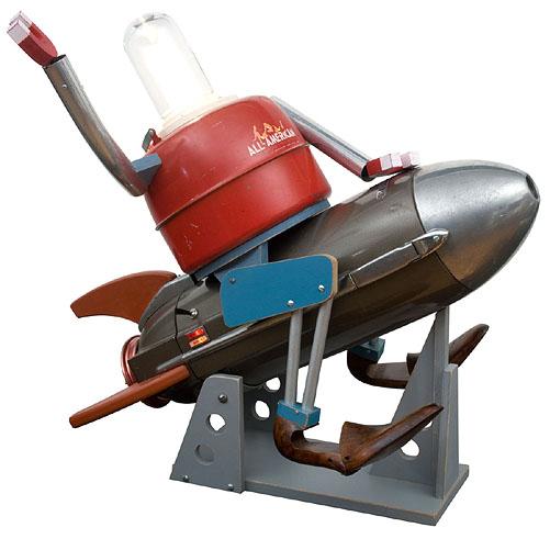 Robots! Rockets!