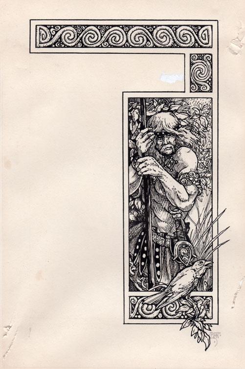 Runestaff Contents Illustration