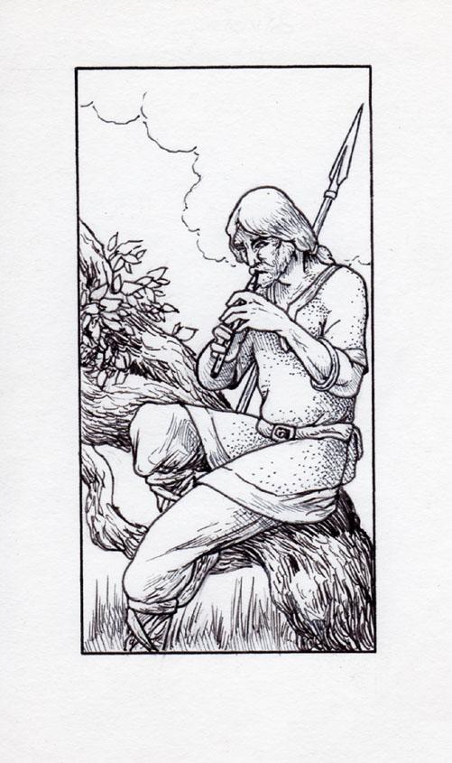 Runestaff Musician (1985)