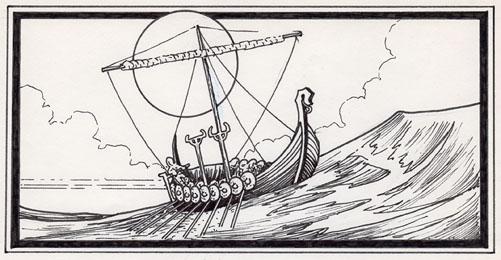 Runestaff Longship (1984)