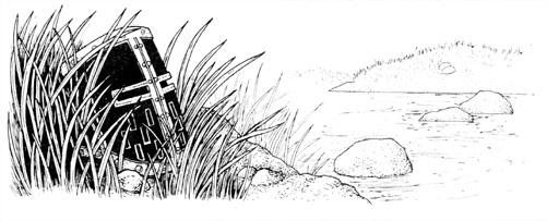 Illustration for Rudyard Kipling's Tarrant Moss (left page)