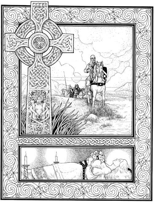 Illustration for Rudyard Kipling's 'Heriots Ford'