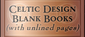 Celtic Design Blank Books (unlined)