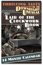 Clockwork Book Calendar