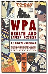 WPA Poster Art Calendar