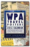 WPA Travel Posters Calendar