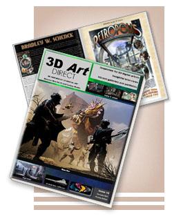 3D Art Direct magazine