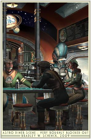 Diner of the Retro Future