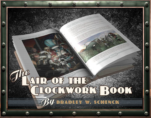 Still from the Clockwork Book Trailer, almost