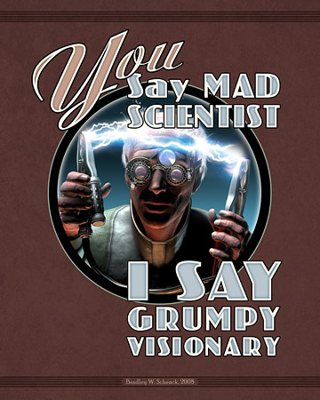 Mad Science Art