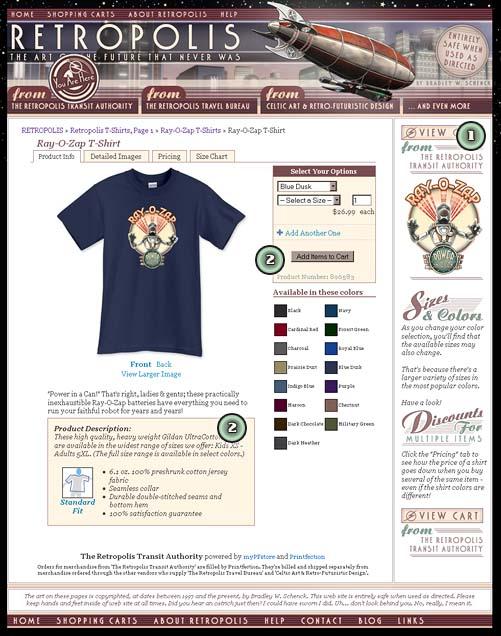 Retropolis Product Page