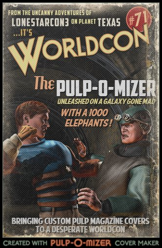LoneStarCon3's Pulp-O-Mizer Competition for WorldCon 71