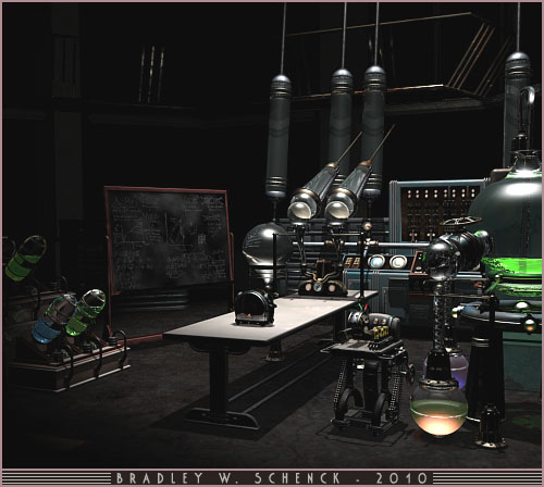 Mad Doctor Rognvald's Laboratory