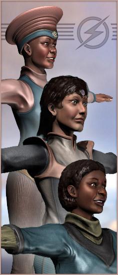 More ladies of Retropolis