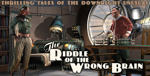Thrilling Tales: The Riddle of the Wrong Brain
