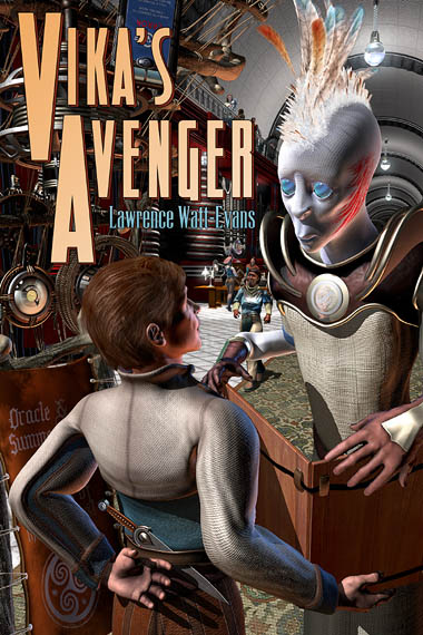 Cover for Vika's Avenger