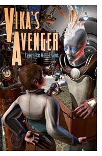 Vika's Avenger: paperback cover