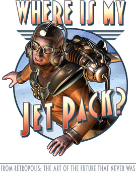Where's My Jet Pack T-shirt