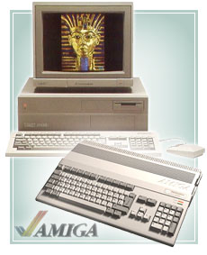 Amiga 2000 and Amiga 500