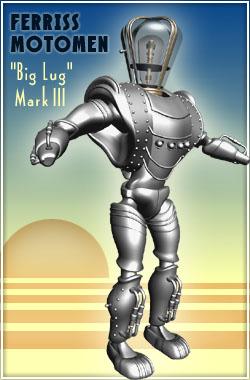 retro robot model -