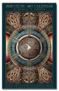 Celtic Design Wall Calendar