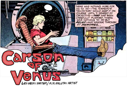 Carson of Venus - Michael Kaluta