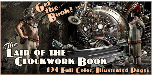 Now available in paperback - The Lair of the Clockwork Book