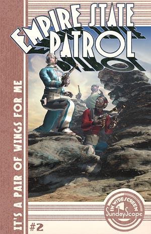 DieselPunk Retro Sci Fi Comic