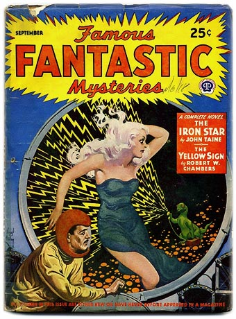 Virgil Finlay Pulp Cover