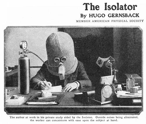 hugo Gernback's Isolator