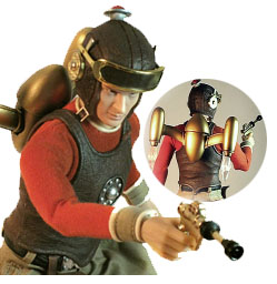 Go Hero's Buck Rogers Action Figure