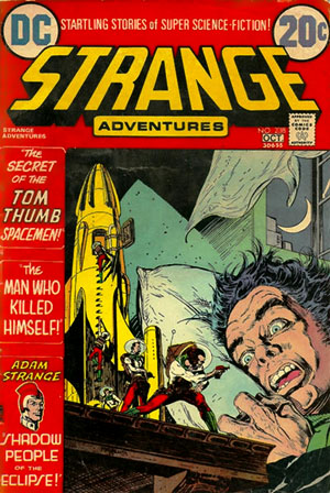 michael kaluta strange adventures comic cover